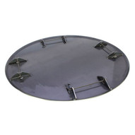 Marshalltown PAN62SC-5C-P 62-12in. 5 Safety Clip Flat Power Trowel Pan - Painted-1