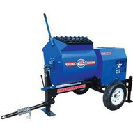 Marshalltown 1200MP8HPO 12 Cu. Ft Mortar Mixer W8hp Honda Engine Pintle Hitch Outriggers-1