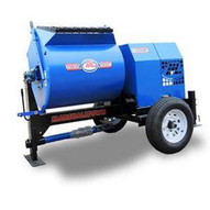 Marshalltown 1200MP8HBO 12 Cu. Ft Mortar Mixer W8hp Honda Engine 2 Ball Hitch Outriggers-1