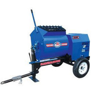 Marshalltown 800MP8HP 8 Cu. Ft Mortar Mixer W8hp Honda Engine Pintle Hitch-1