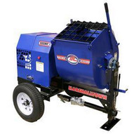 Marshalltown 800MP8HB 8 Cu. Ft Mortar Mixer W8hp Honda Engine 2 Ball Hitch-1