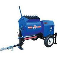 Marshalltown 800MP8HBO 8 Cu. Ft Mortar Mixer W8hp Honda Engine 2 Ball Hitch Outriggers-1