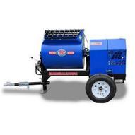 Marshalltown 1220MP75E3B230 12 Cu. Ft Hydraulic Mortar Mixer W7.5hp 3 Phase Electric 230v 2 Ball Hitch-1