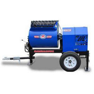 Marshalltown 1220MP75E3BO230 12 Cu. Ft Hydraulic Mortar Mixer W7.5hp 3 Phase Electric 230v 2 Ball Hitch Outriggers-1