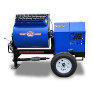 Marshalltown 1620MP75E3P230 16 Cu. Ft Hydraulic Mortar Mixer W7.5hp 3 Phase Electric 230v Pintle Hitch-1