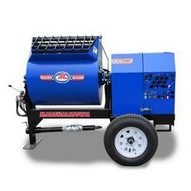 Marshalltown 1220MP75E3P460 12 Cu. Ft Hydraulic Mortar Mixer W7.5hp 3 Phase Electric 460v Pintle Hitch-1
