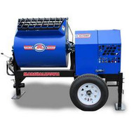 Marshalltown 1620MP75E3BO460 16 Cu. Ft Hydraulic Mortar Mixer W7.5hp 3 Phase Electric 460v 2 Ball Hitch Outriggers-1