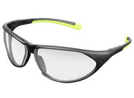 Legacy EFZ02CP Pro Impact Clear Lensprotective Eyewear Black Frame-1
