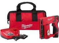 Milwaukee Electric Tool 2447-21 M12 38 Crown Stapler Kit-1