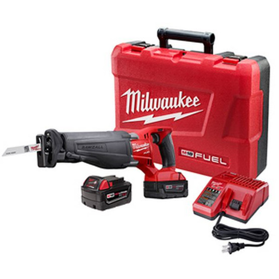 Milwaukee Electric Tool 2720-22 M18 Fuel Recip Sawzall Twobattery Kit-2