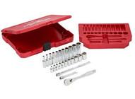 Milwaukee Electric Tool 48-22-9404 14 Drive 26pc Sae Ratchet &socket Set-1