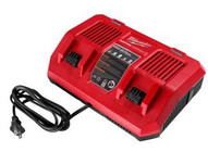 Milwaukee Electric Tool MWK48-59-1802 M18� Dual Bay Simultaneousrapid Charger-1