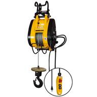 OZ Lifting OBH1000NG Electric Wire Rope Hoist 1000 lb Cap 37 FPM 115V (MOST POPULAR)-1