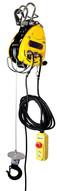 OZ Lifting OBH500NG Electric Wire Rope Hoist 14 Ton Capacity 90' Lift 75 fpm 115V-1