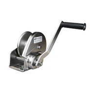 OZ Lifting Products OZ1000BWSS 1000 Lbs. Stainless Steel Manual Brake Winch-1