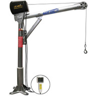 OZ Lifting Products OZ1000DAV-ACW 1000 Lbs. Steel Davit Crane With 110v Ac Electric Winch (MADE IN USA)-3