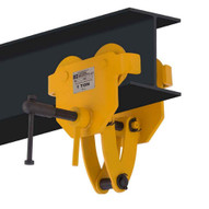 OZ Lifting Products OZ1BTC 1 Ton Trolley With Clamp Combo-1