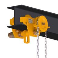 OZ Lifting Products OZ1GBT 1 Ton Geared Trolley-1