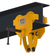 OZ Lifting Products OZ2BTC 2 Ton Trolley With Clamp Combo-1