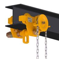 OZ Lifting Products OZ2GBT 2 Ton Geared Trolley-1