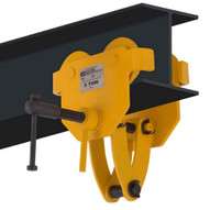 OZ Lifting Products OZ3BTC 3 Ton Trolley With Clamp Combo-1