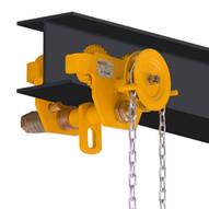OZ Lifting Products OZ3GBT 3 Ton Geared Trolley-1