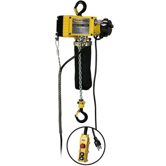 OZ Lifting OZ440EC Ultra Light 20' Chain Hoist 400 LB Capacity-2