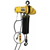 OZ Lifting OZ500EC Ultra Light 20' Chain Hoist 500 LB Capacity-2