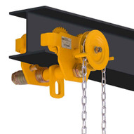 OZ Lifting Products OZ5GBT 5 Ton Geared Trolley-1