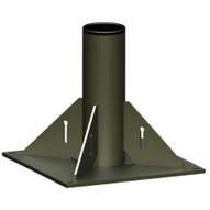 OZ Lifting Products OZPED1 Pedestal Base For Oz1200dav Davit Crane-1