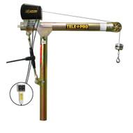 OZ Lifting OZTP500DAV-ACW 500 Lbs. Telescoping Davit (w/110 AC Electric Winch)