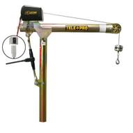 OZ Lifting OZTP500DAV-DCW 500 Lbs. Telescoping Davit (w/12V DC Electric Winch)