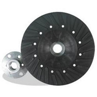 Pearl Abrasive Bp0410s 4 X M10 X 1.25 Backup Pad For Fiber Discs Spiral-faced-1