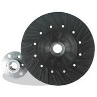 Pearl Abrasive Bp4558s 4-12 X 58-11 Backup Pad For Fiber Discs Spiral-faced-1