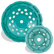 Pearl Abrasive Dc5cdh 5 X 58-11 Pearl P4 Concrete & Masonry Cup Wheel Double Row-1