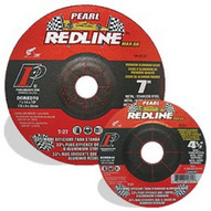 Pearl Abrasive Dcred40 4 X 14 X 58 Redline Max-a.o. Depressed Center Wheels Awa24r (25 In A Box)-1