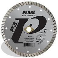 Pearl Abrasive Dia004bl 4 X .070 X 20mm 58 Pearl P3 Gen. Purpose Flat Core Turbo Blade 12mm Rim-1