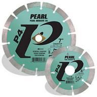 Pearl Abrasive Dia008cp 8 X .080 X Dia 58 Pearl P4 General Purpose Segmented Blade 12mm Rim-1