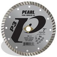 Pearl Abrasive Dia045bl 4.5 X .080 X 78 58 Pearl P3 Gen. Purpose Flat Core Turbo Blade 12mm Rim-1