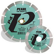 Pearl Abrasive Dia045cp 4-12 X .080 X 78 58 Pearl P4 General Purpose Segmented Blade 12mm Rim-1