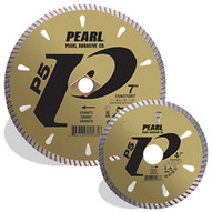 Pearl Abrasive Dia04gr4 4 X .070 X 20mm 4h Pearl P5 Tile & Stone Blade 8mm Rim-1