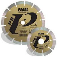 Pearl Abrasive Dia07csp 7 X .080 X Dia 58 Pearl P5 General Purpose Segmented Blade 12mm Rim-1