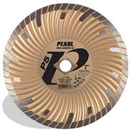 Pearl Abrasive Dia07sdg 7 X .080 X Dia 58 Pearl P5 Gen. Purpose Waved Core Turbo Blade 8mm Rim-1
