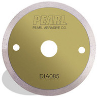 Pearl Abrasive Dia085 3-38 X 15mm Pearl P5 Gen. Purpose Tile Blade For Cordless Saws 4mm Rim-1