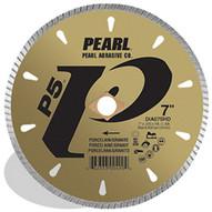 Pearl Abrasive Dia08shd 8 X .070 X Dia 58 Pearl P5 Tile & Stone Blade 6mm Rim-1