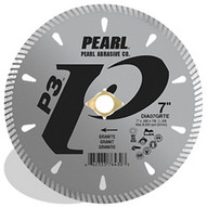 Pearl Abrasive Dia7grte4 7 X .090 X 78 20mm 58 Pearl P3 Tile & Stone Blade 8mm Rim-1