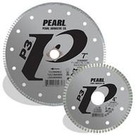Pearl Abrasive Diam045 4-12 X .060 X 78 58 Pearl P3 Tile & Marble Blade 5mm Rim-1