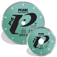 Pearl Abrasive Dtl45hpxl 4-12 X .060 X 78 58 Pearl P4 Dry Porcelain Blade 8mm Rim-1
