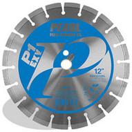 Pearl Abrasive Exv1412xl2 14 X .125 X 20mm Pearl P1 E X V Concrete & Masonry Segmented Blade 12mm Rim-1