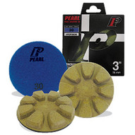 Pearl Abrasive Fcp3800pk6 3 Pearl Dry Concrete Polishing Pads 6pack Kit 800 Grit-1